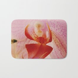Close up Orchid #5 Bath Mat