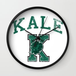 University of Kale Wall Clock