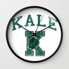 University of Kale Wall Clock