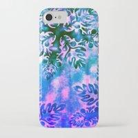 hawaiian iPhone & iPod Cases featuring Hawaiian Holiday by Vikki Salmela