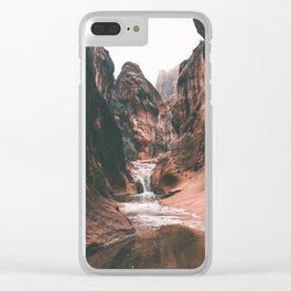 Utah III Clear iPhone Case