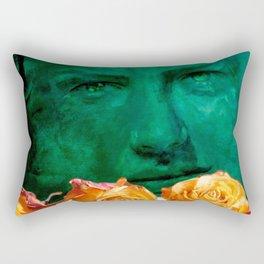 ROSE - quote Rectangular Pillow