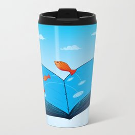 Sea of wisdom Metal Travel Mug