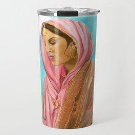 Punjabi Beauty Travel Mug