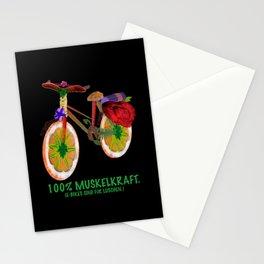 E-Bike muscle Stationery Cards