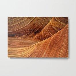 The Wave, Coyote Buttes, Paria Canyon-Vermilion Cliffs Wilderness, Arizona Metal Print