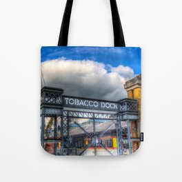 Tobbaco Dock London Tote Bag
