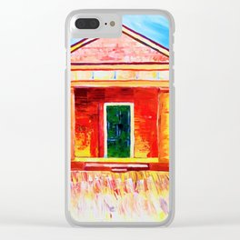 Old 1830s sandstone building NSW Australia Clear iPhone Case