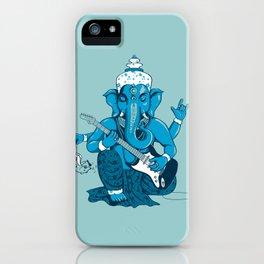 Ganesha rocks ! (v3) iPhone Case
