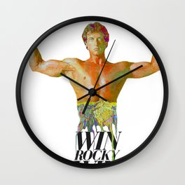 WIN ROCKY WIN Wall Clock