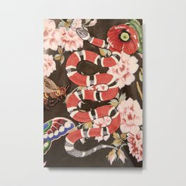 guci snake flower Metal Print