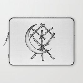 Crescent Moon Rune Binding Laptop Sleeve
