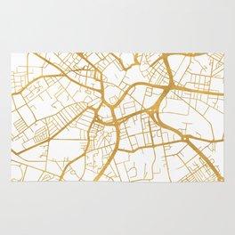 BRADFORD ENGLAND CITY STREET MAP ART Rug