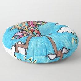 Looking for love Floor Pillow