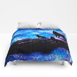 Wolf Trio Comforters