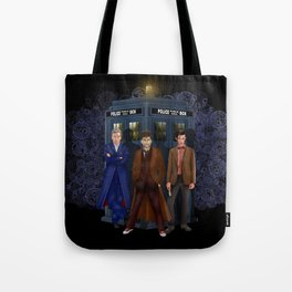 The best regeneration of Doctor who Tote Bag