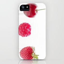 3 fruits, 3 forks iPhone Case