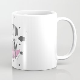 I Love You To The Moon.. - Pink Palette Coffee Mug