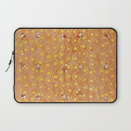 Beethoven Frieze by Gustav Klimt Laptop Sleeve