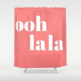 ooh la la IV Shower Curtain