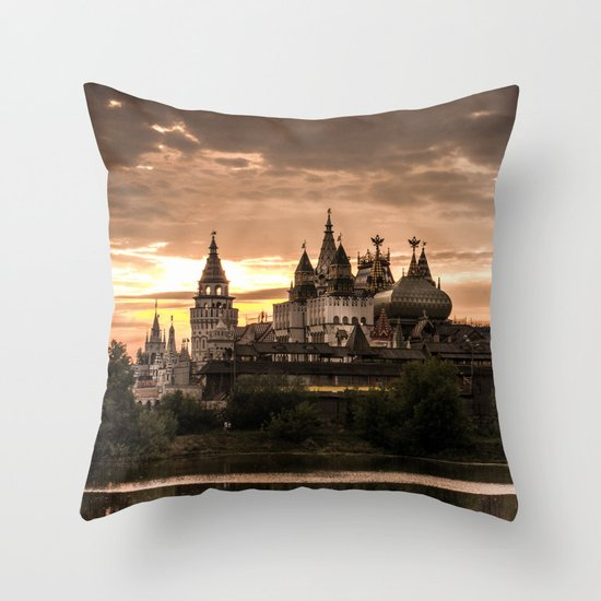 Dreamcastle Throw Pillow