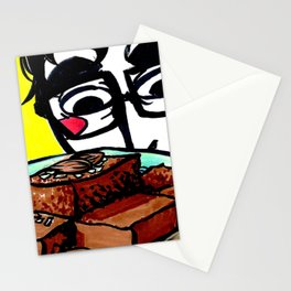 Almond Brownies Stationery Cards