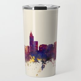 Raleigh North Carolina Skyline Travel Mug