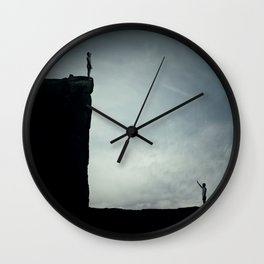 ADVERSITY Wall Clock