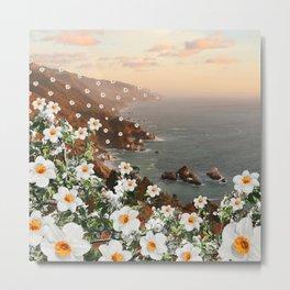 floral coast Metal Print