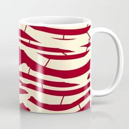 ZEBRA RED TTY N12 Coffee Mug