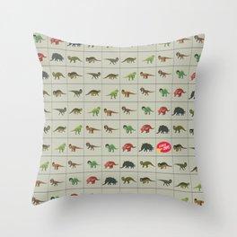 Dinorockers Throw Pillow