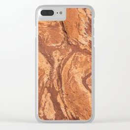 Red Rock Corral Texture from Colorado Clear iPhone Case