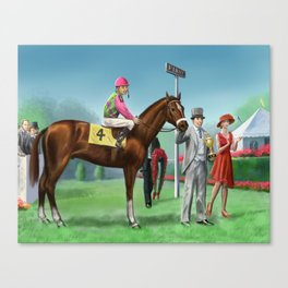 The Winer Canvas Print
