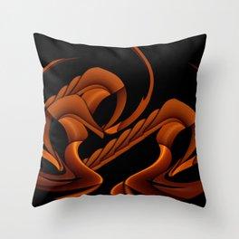 Hyper Sphinx Throw Pillow
