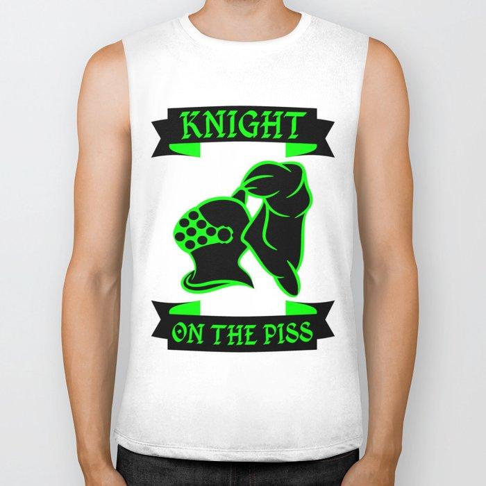 Stag Knight on the Piss Biker Tank