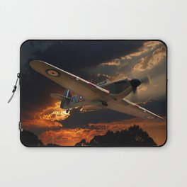 A Fighter Plane Returns Home Laptop Sleeve