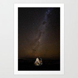Infinite Stars Art Print