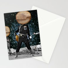 Final Shot in Space Collage Stationery Cards
