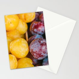 Colorful fruit street photography Utrecht  Stationery Cards