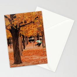 Paris in the Fall Stationery Cards