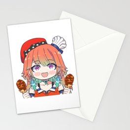 Takanashi Kiara Chibi Stationery Cards