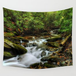Down By The Creek Wall Tapestry