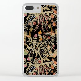 Birds of Paradise. Clear iPhone Case