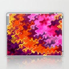 Firey Orange Psychedelic Swirls Laptop & iPad Skin