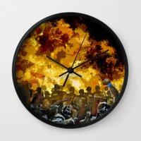 Oppression Wall Clock