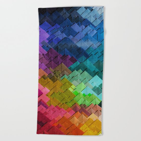 Just colors Beach Towel