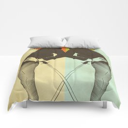 Samurai Girl Comforters