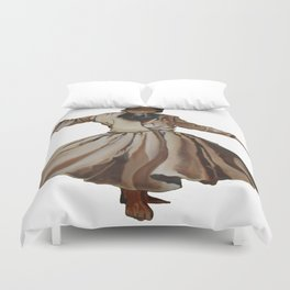 Whirling Dervish Conveys God's Spiritual Gift Duvet Cover
