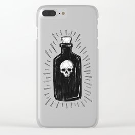 The Devil's Drink Clear iPhone Case