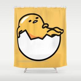 Lazy Egg 2 Shower Curtain